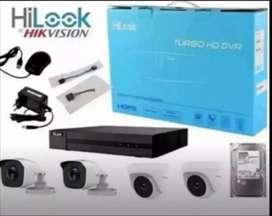 PAKETAN KAMERA CCTV 2MP HILOOK KOMPLIT PLUS PEMASANGAN