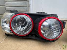 Headlamp Chevrolet Aveo Sonic + Ring merah