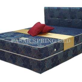 FreeOngkir Spring Bed Kasur Javaland New Panda Biru 90 Set