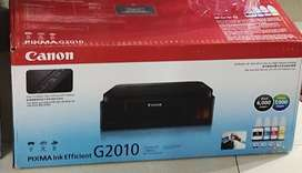 NEW PRINTER PIXMA G2010 9800/-
