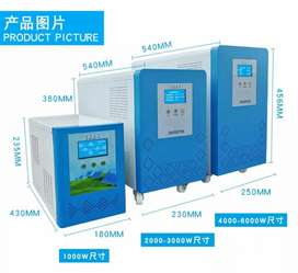 Pure sin wave 6KW solar invertor with builtin mppt