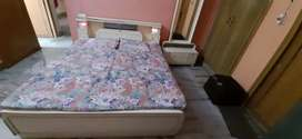 Bed and Dressing Table in good condition