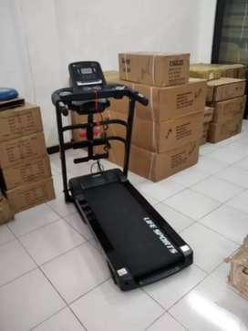 Promo terbaru ks1810  treadmill elektrik hidroik 5 fungdi