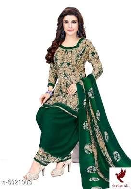 Trendy Women' Suit & Dress Material  Top Fabric: :