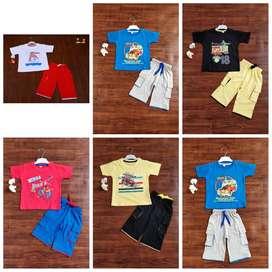 kids export surplus printed pyjamas for boys and girls