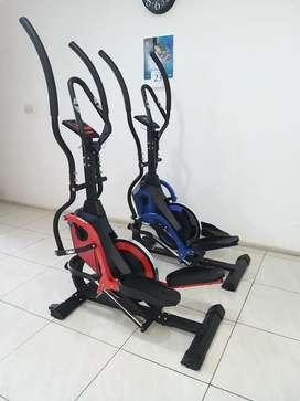 Ready alat fitness bakar lemak 3x lebih cepat standing elliptical