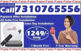Airtel DTH Dishtv Tatasky DTH HD Connection Tv Tata sky offer @1249
