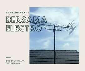 Teknisi tukang pasang signal antena tv murah kemayoran