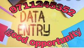 Simple data entry work part time home based job
