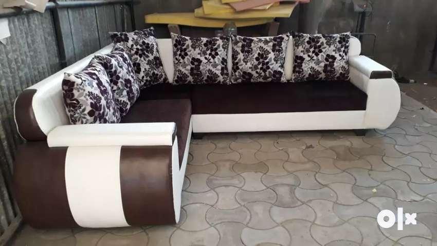 L shap sofa set 0