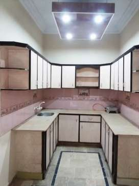9 Room House building G+2 west open for sale KDA power file korangi