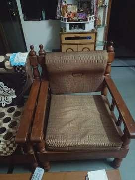 Sofa Set made of seesam wood