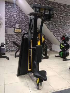 Gym full new branded setup manufacturer nd importer also