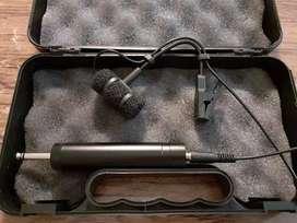 Mic kabel saxophone trumpet wind instrument