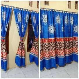 Menjual Gorden Hand Made Tali 3 Lembar Kirim Maluku Tengah