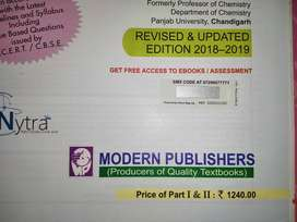 Modern abc+ Chemistry Reference book for class 12 (part 1 & 2)