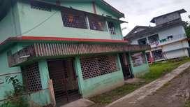 2 Kotha Land + RCC house (2 floors) for Sale near Nazira Kefai Shoppie