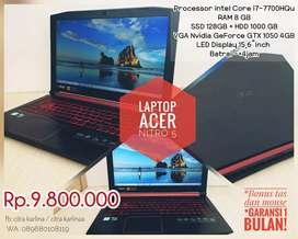 Zona Komputer | Laptop gaming acer nitro 5 spek mantap siap pakai!