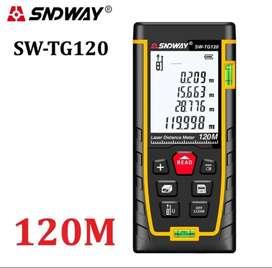 SNDWAY SW-TG120 Digital Laser Distance Meter 120m Meteran Digital