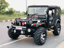 Hunter open modified willys jeeps in new looks