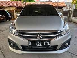 Suzuki Ertiga GL 1.4 AT Tahun 2015 Tangan Pertama Jakarta Timur