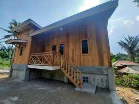 Rumah Kayu dan tanah kebun