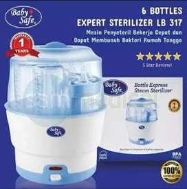 Baby safe bottle steril