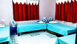 Luxurious bed facility at bani vihar,vss nagar ,single room