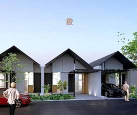 Beli Rumah Baru Mudah FREE INTERIOR 13 menit ke HeHa Sky View