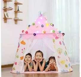 Tenda Anak Model 2 Pintu Mainan Anak Camping Tenda Lipat