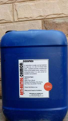 """""""Anti-Rusting/Rust Protection Chemical for Spare Parts""""!"""