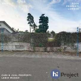 778 M2 Tanah pinggir jalan di Taman baru Mataram T455