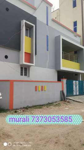MURALI NEW 4 BHK TWO PORTIONS RENTAL INCOME HOUSE SAL in SARAVANAMPATI