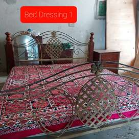 Bed Dressing Good Condition