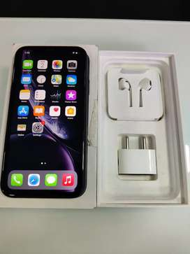iPhone XR 64GB Black Colour Brand New Condition