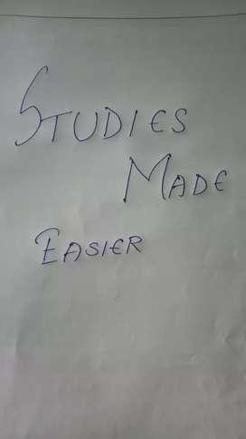 Studies Made Easier (At low rates)