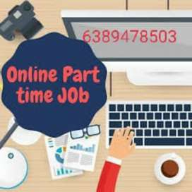 47)Work@home | Part Time |- Freshers /Ep From Govt. Certified Company