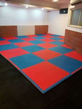 Gym mat manufacturing
