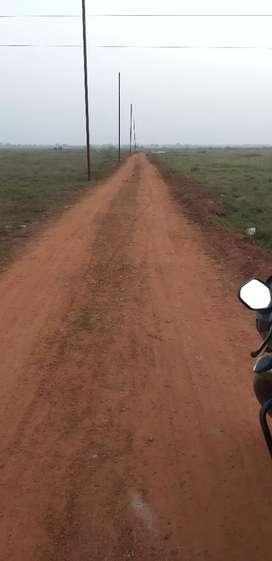 Boundry wall plot near AIIMS Hospital near