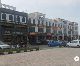 Preleased property showroom floor in Mohali Airport Road sector 74A