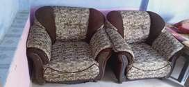 Very good condition and new sofa