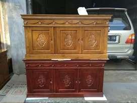 Bufet meja tv classic ukir furniture