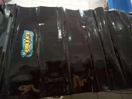 Sarung jok size xl nmax aerox pcx vario 150 carbon hitam biker baru
