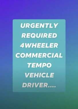 Urgently driver requirement for TaTa Ace xl (chhota hathi)at  gurgaon.
