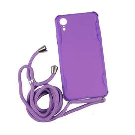 Rope Necklace TPU Side Candy Case iPhone XR