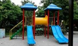 Playground taman mini ayunan prosotan Af odong