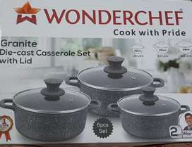 Wonderchef, set of 3. 5%off