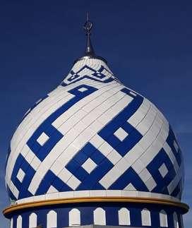 Handal dan Rapi dalam Pembuatan Kubah Masjid GRC dikerjakan Ahlinya
