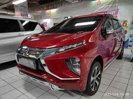 Mitsubishi xpander ultimate merah automatic surabaya full ori low km
