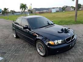 BMW E46 318i Th. 2002 Mauritius Blue Sangat Terawat Siap Pakai